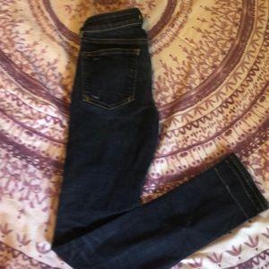 Pilcro Dark wash skinny jeans